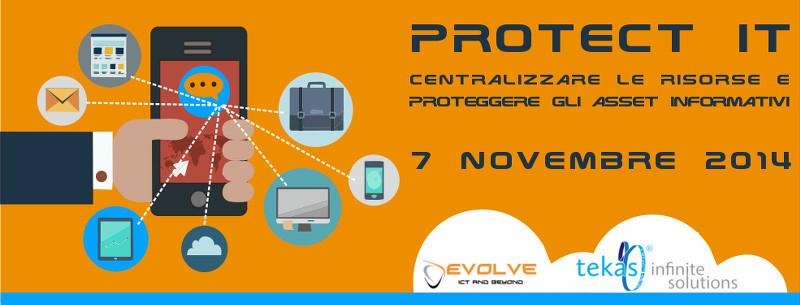"Evento ""PROTECT IT"""