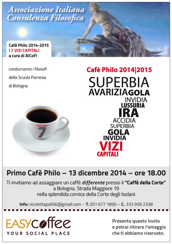 Primo Cafè Philo – 13 dicembre 2014 – Ore 18.00