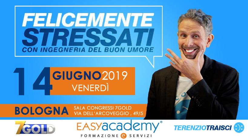 2019: in calendario una nuova data per il corso Felicemente Stressati | Easy Academy
