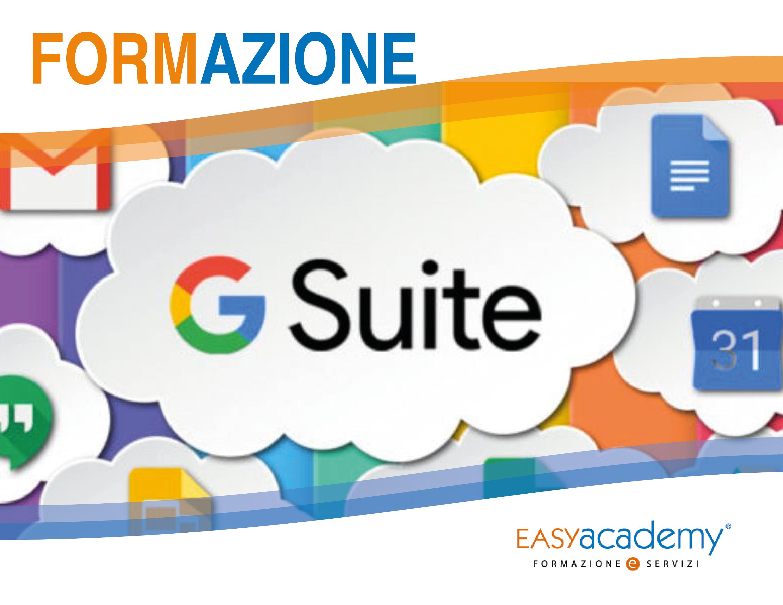 Corso G Suite: moltiplica produttività e risultati sfruttando gli strumenti aziendali di Google