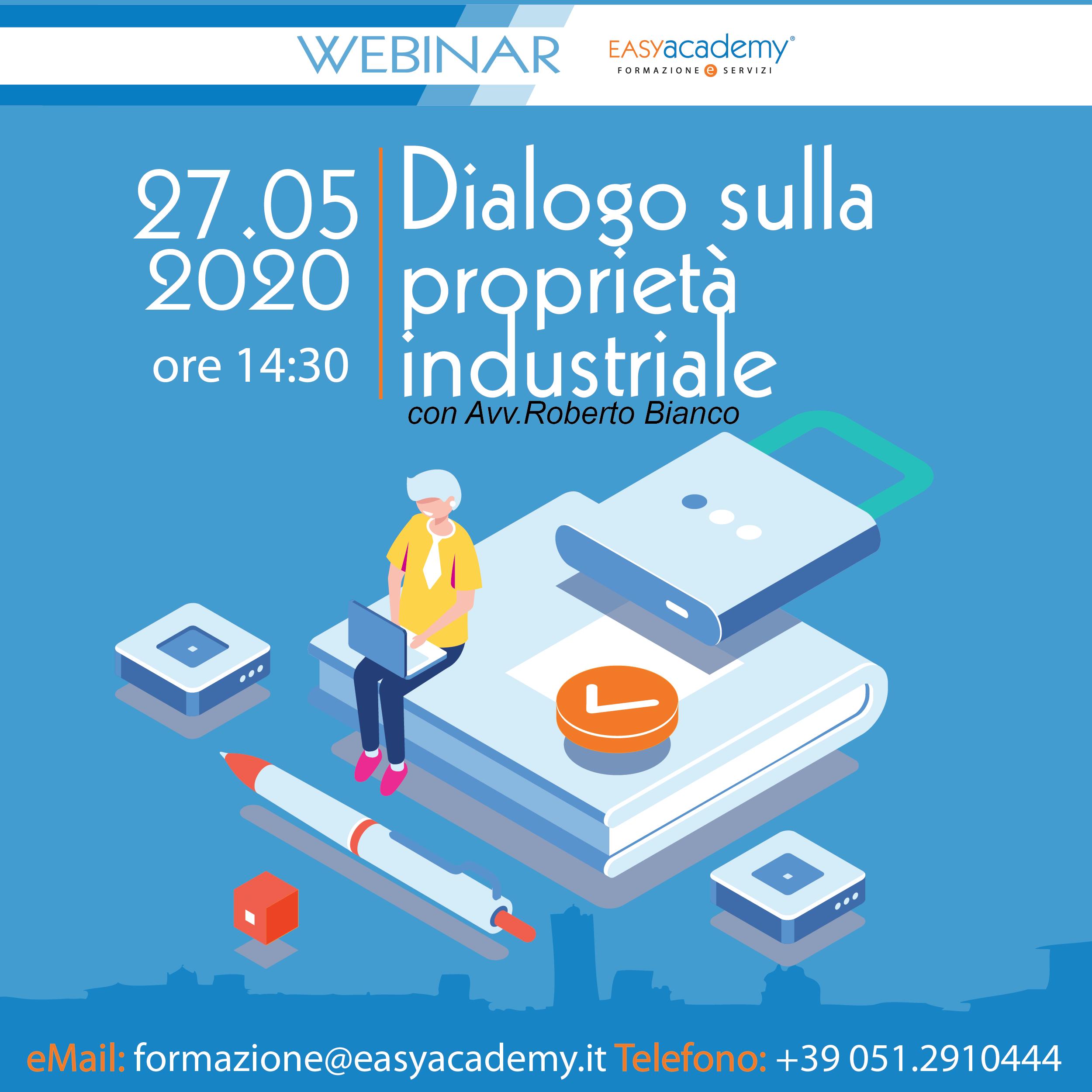 Dialogo sulla proprietà industriale| WEBINAR