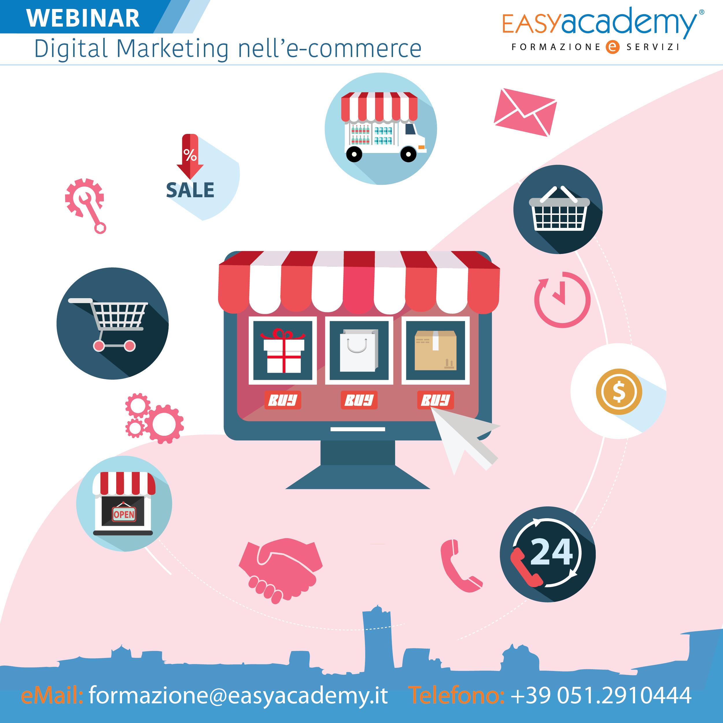 Digital Marketing nell'e-commerce | WEBINAR