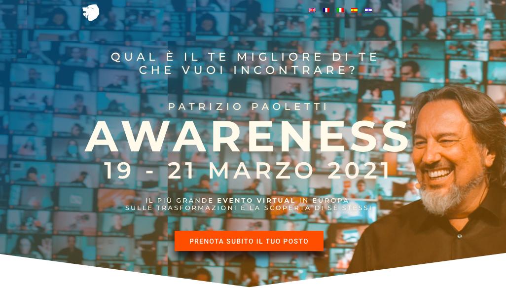 Awareness 19-21 Marzo 2021