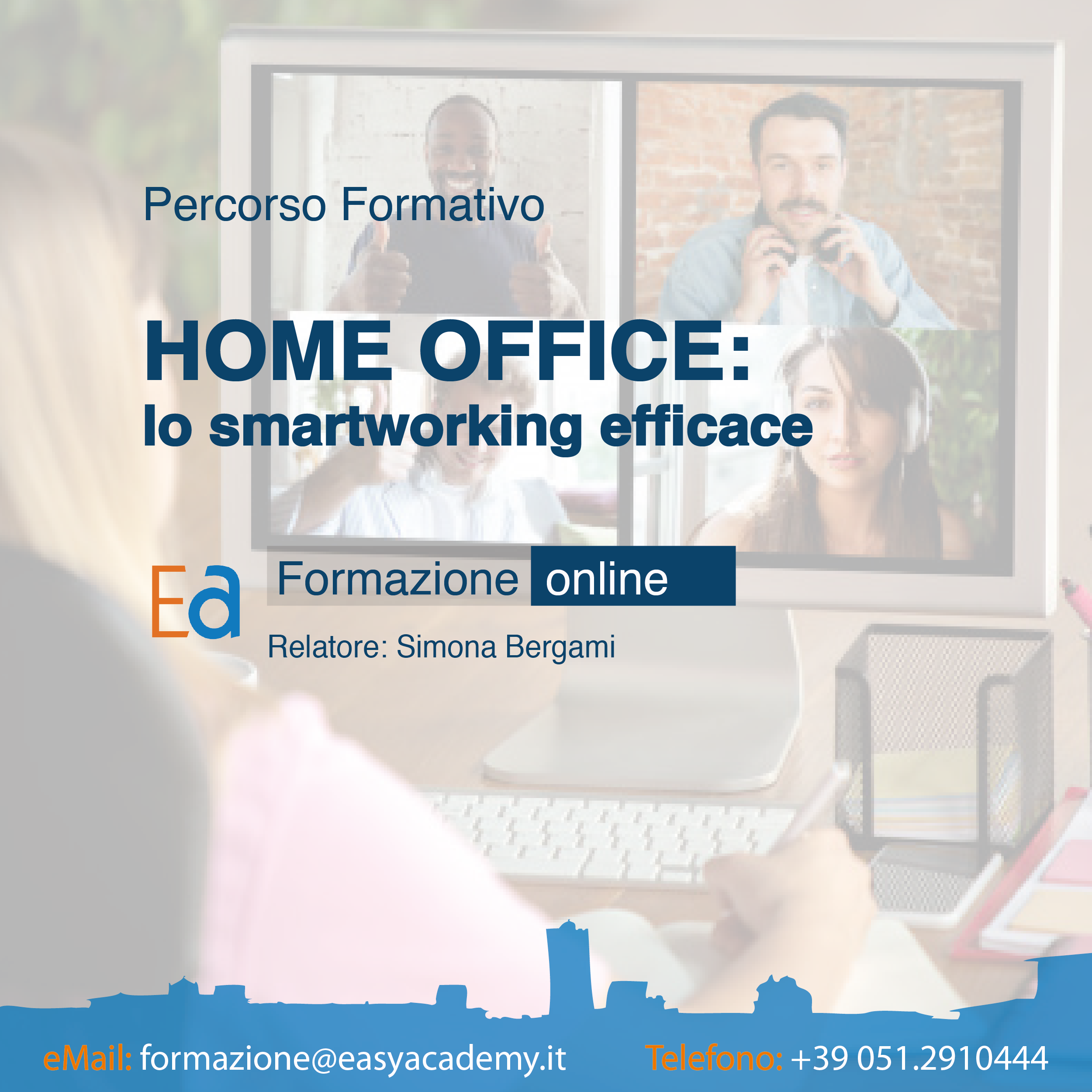 CORSO ONLINE | Home office: lo smartworking efficace